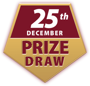 Racehorse Lotto Christmas Raffle