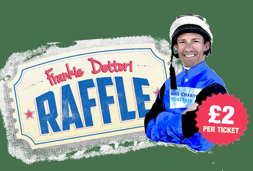 Frankie Dettori Raffle - £2 per ticket