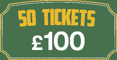 50 Tickets £100